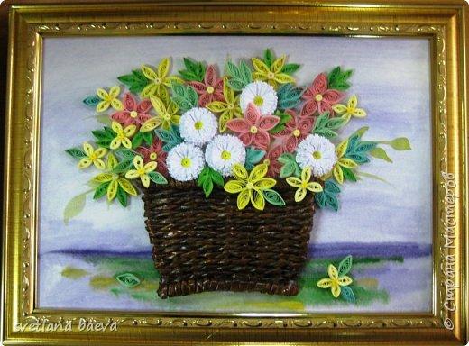 Корзинки с цветами фото 5