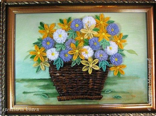 Корзинки с цветами фото 6