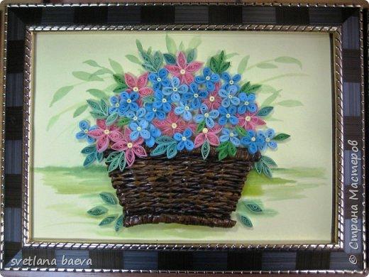 Корзинки с цветами фото 7