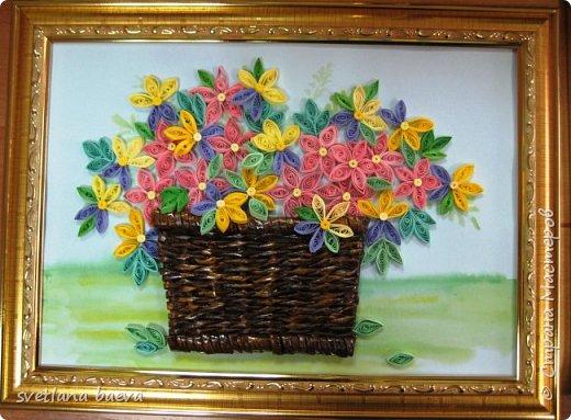 Корзинки с цветами фото 8