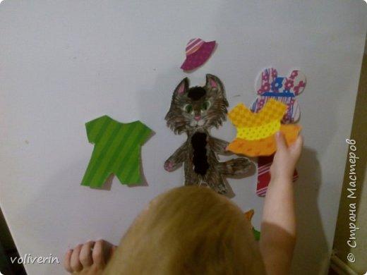 Здравствуйте, хочу показать очень простую и интересную для малышей игрушку, которую я зделала сама из всяких красивых обрезков бумаги и ненужных магнитов. фото 1