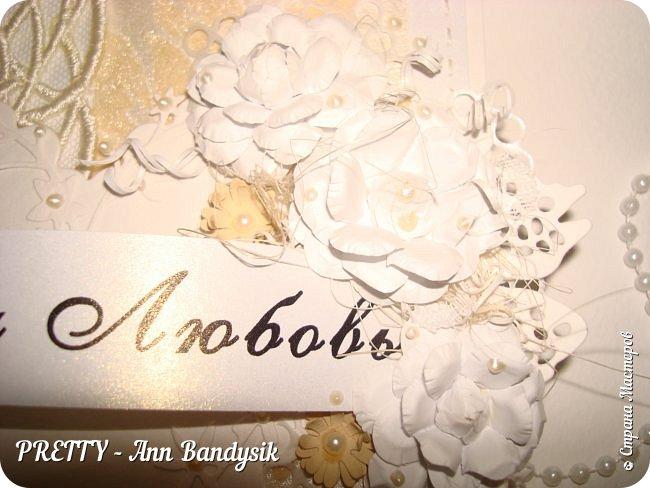 Свадебный комплект. Открытка+конверт для денег. фото 17
