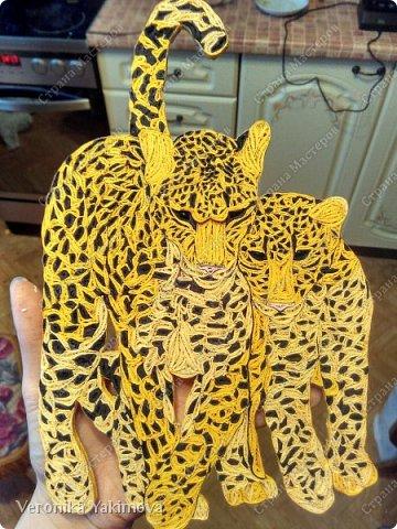 Вот такие милые леопарды у меня получились. фото 7
