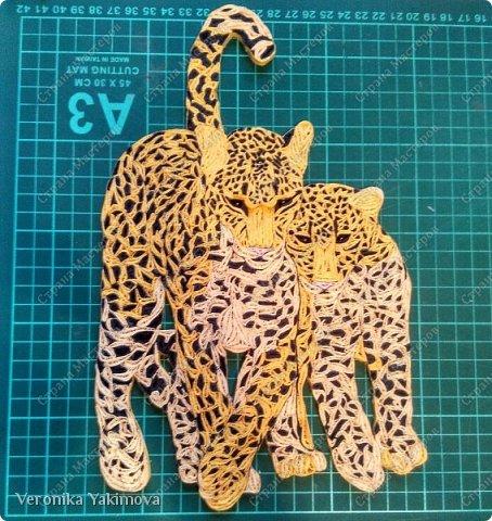 Вот такие милые леопарды у меня получились. фото 8