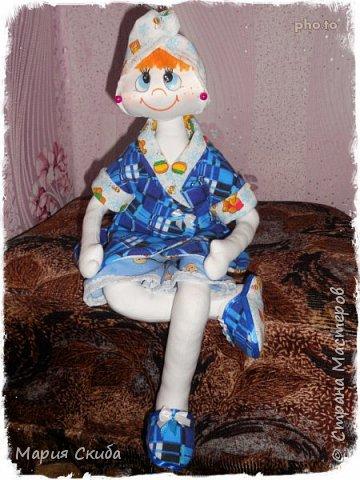 Потренировалась я на первой кукле и, помня все ошибки, сшила уже более серьезную( по качеству) Степку. фото 2