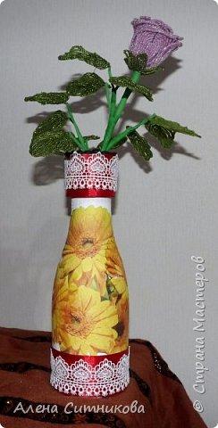 ваза с желтыми цветами фото 1