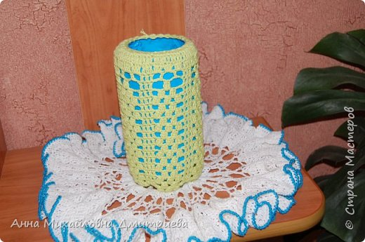 Декор для вазы+салфетка фото 1