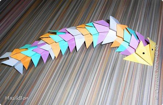 Оригами дракон.