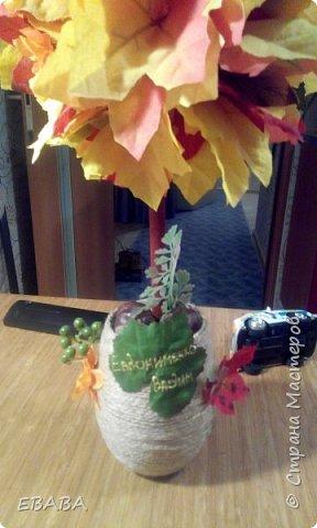 Сделала топиарий сыну в садик на праздник осени!