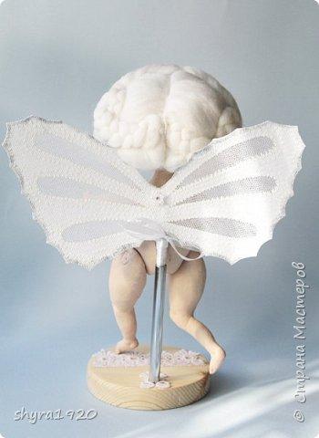 Новая серия кукол под названием БУЛИБОШЕЧКА. Куколка первая Нежный или Снежный Ангел. фото 7