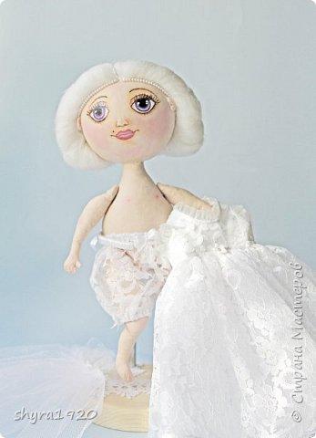 Новая серия кукол под названием БУЛИБОШЕЧКА. Куколка первая Нежный или Снежный Ангел. фото 9