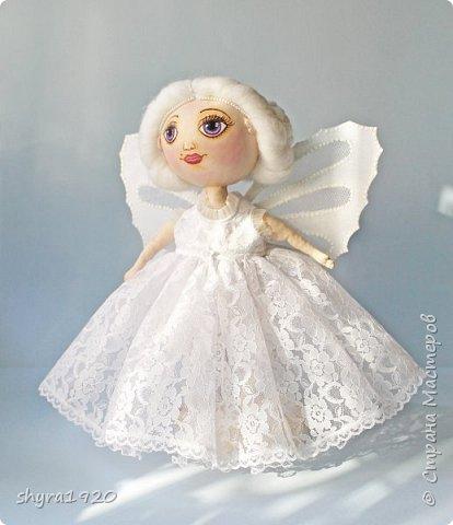 Новая серия кукол под названием БУЛИБОШЕЧКА. Куколка первая Нежный или Снежный Ангел. фото 1
