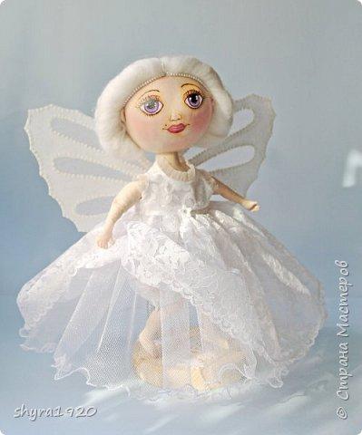 Новая серия кукол под названием БУЛИБОШЕЧКА. Куколка первая Нежный или Снежный Ангел. фото 3
