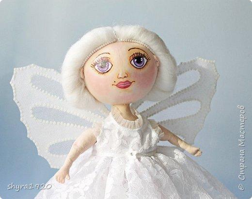 Новая серия кукол под названием БУЛИБОШЕЧКА. Куколка первая Нежный или Снежный Ангел. фото 4