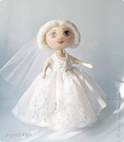 Новая серия кукол под названием БУЛИБОШЕЧКА. Куколка первая Нежный или Снежный Ангел. фото 13