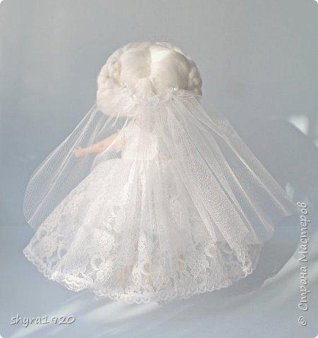 Новая серия кукол под названием БУЛИБОШЕЧКА. Куколка первая Нежный или Снежный Ангел. фото 14