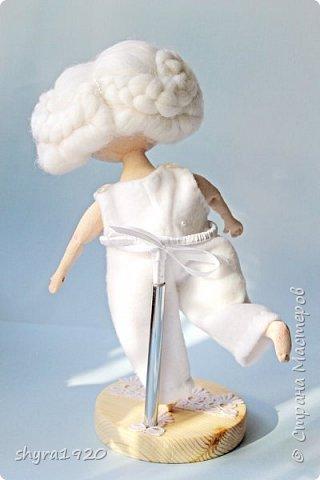 Новая серия кукол под названием БУЛИБОШЕЧКА. Куколка первая Нежный или Снежный Ангел. фото 17