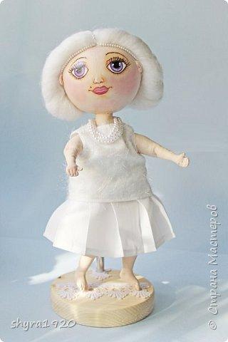 Новая серия кукол под названием БУЛИБОШЕЧКА. Куколка первая Нежный или Снежный Ангел. фото 22