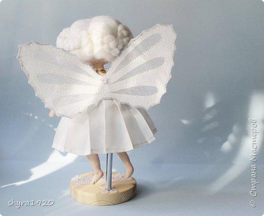 Новая серия кукол под названием БУЛИБОШЕЧКА. Куколка первая Нежный или Снежный Ангел. фото 23