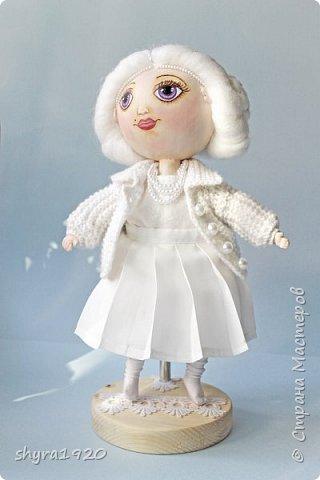 Новая серия кукол под названием БУЛИБОШЕЧКА. Куколка первая Нежный или Снежный Ангел. фото 25