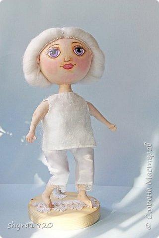 Новая серия кукол под названием БУЛИБОШЕЧКА. Куколка первая Нежный или Снежный Ангел. фото 24