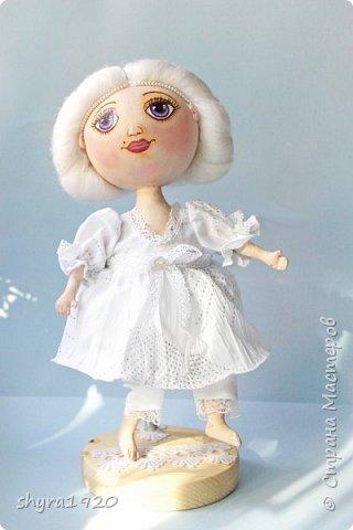 Новая серия кукол под названием БУЛИБОШЕЧКА. Куколка первая Нежный или Снежный Ангел. фото 19