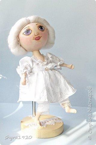 Новая серия кукол под названием БУЛИБОШЕЧКА. Куколка первая Нежный или Снежный Ангел. фото 20