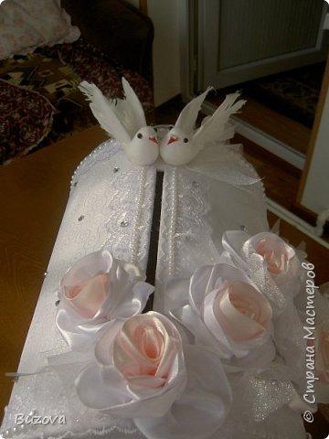 Моя подруга женит младшего сына.  У казахов есть свадебный обычай -Беташар. Это смотрины невесты. Знакомые, соседи, родственники жениха приходят посмотреть на невесту. Полагается принести подарок. Сейчас люди не заморачиваются - приносят конвертик с деньгами. Вот подруга и попросила сделать сундучок, как у русских на свадьбе. фото 2