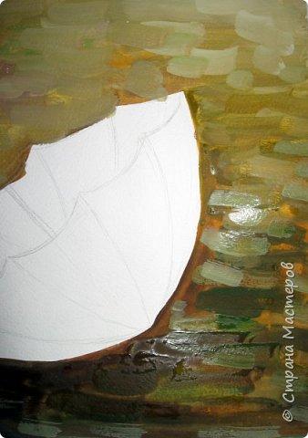 Осень не отпускает, поэтому продолжаю осеннюю тему.  В слякотную, дождливую погоду необходимой вещью является зонтик, вот его и предлагаю нарисовать. фото 6