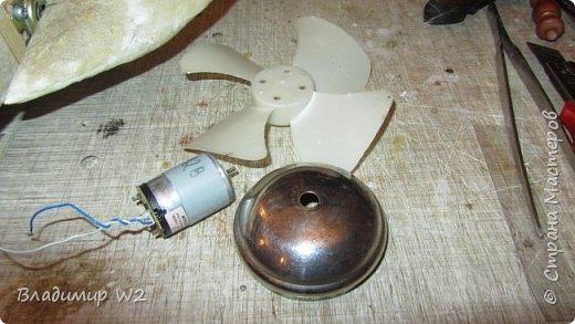 Материалы: Пластик, металл, папье-маше, лампы, краски, ПВА, винтики-болтики...  фото 7