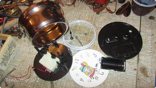 Материалы: Пластик, металл, папье-маше, лампы, краски, ПВА, винтики-болтики...  фото 8