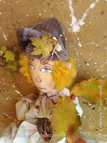 Переоделся лес в осень и эльфу нельзя отставать, нужно слиться с лесом, что бы следить за порядком... фото 3