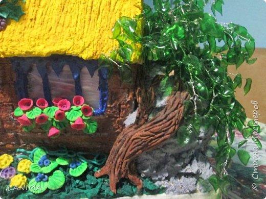 первый мой домик,сделан по мастер классу мамы ангелы http://stranamasterov.ru/user/111432  фото 7