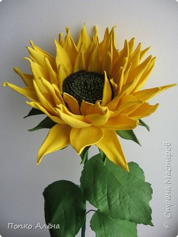 Здравствуйте, Мастера и мастерицы! Представляю Вам цветы из фоамирана.  Одуванчики. фото 5