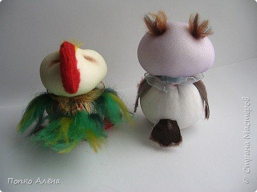 """Всем доброго дня!!! Прошу любить и жаловать """"Ученая сова"""".  Игрушка по МК А. Голеневой. фото 18"""