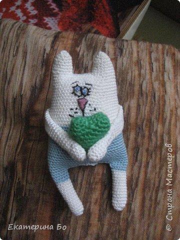 """Заразила"" меня коллега по работе вязанием игрушек... Автор этого зайки Екатерина Савенкова. фото 3"