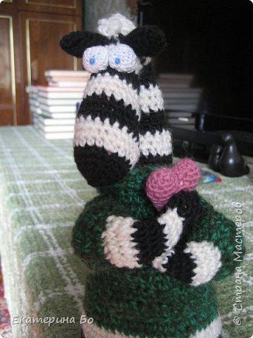 """Заразила"" меня коллега по работе вязанием игрушек... Автор этого зайки Екатерина Савенкова. фото 7"
