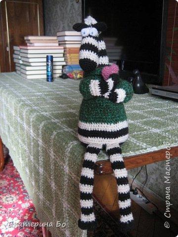 """Заразила"" меня коллега по работе вязанием игрушек... Автор этого зайки Екатерина Савенкова. фото 8"