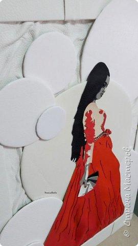 А у меня новый заказик на портрет для замечательной девушки Ираиды)) Портрет выполнен по фотографии из натуральной и эко-кожи. Размер 40*50см  фото 2