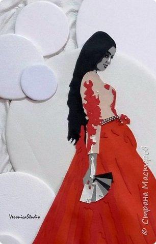 А у меня новый заказик на портрет для замечательной девушки Ираиды)) Портрет выполнен по фотографии из натуральной и эко-кожи. Размер 40*50см  фото 3