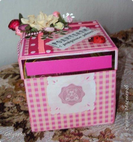 Моя вторая в жизни коробочка сделана по МК Alena090382 http://stranamasterov.ru/user/78960 Все надписи из Интернета. Картинки по бокам у этой коробочки сделаны штампами купленными мной на сайте Совместные покупки. фото 4