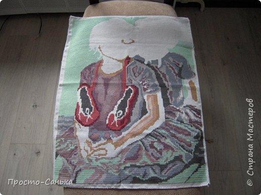Всем доброго времени суток!Матронушку я вышивала 1.5-2 года назад и мне очень стыдно что она до сих пор не в раме фото 9