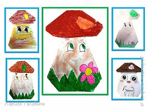 Увидела у Натальи Свиридовой замечательные обаятельные игрушки оригами. http://stranamasterov.ru/node/1048597 Пока попробовали только грибок и клоуна. Спасибо, Наталья, за чудесные идеи фото 2