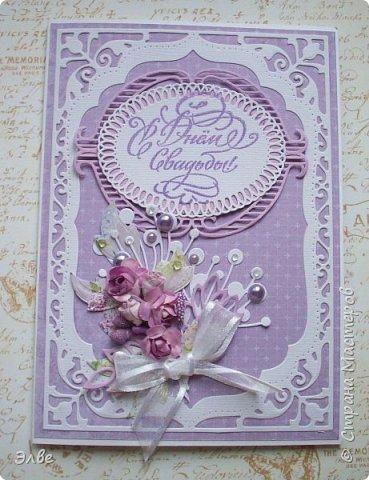 В конце июля у моего единственного племянника была свадьба. С радостью сделала для молодых открыточку. фото 6