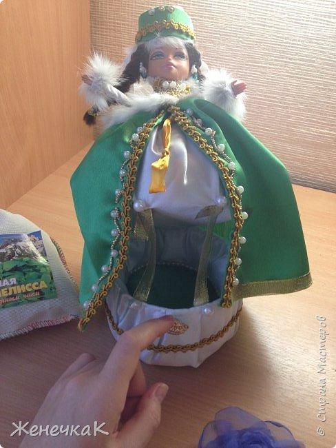 Оригинальный подарок подруге на день рождения! Такую красотку ей точно ни кто не дарил. К тому же она увлекается татарской культурой. Надеюсь её удивить и порадовать.  фото 3