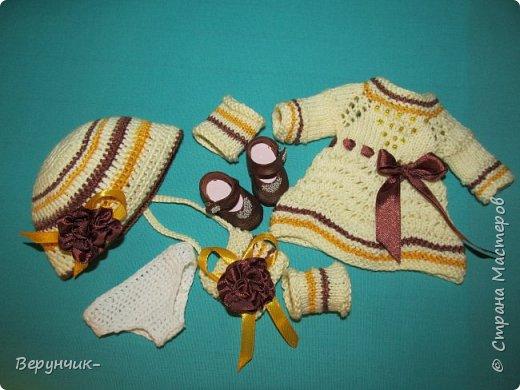 Очередная куколка немочка и пупс захотели принарядиться. фото 3