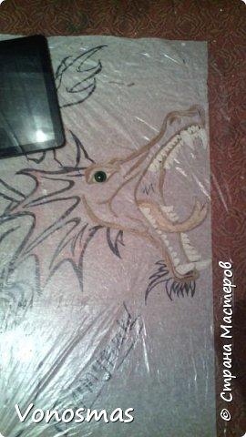 всем салют!!! это дракон из джутового шпагата. И немного пошаговых фото. фото 6
