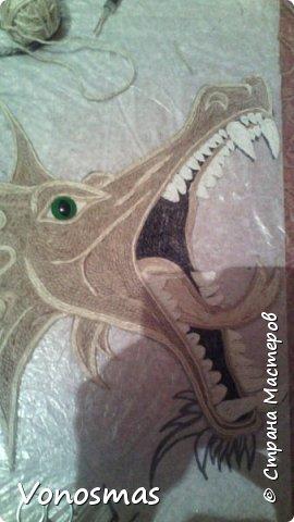 всем салют!!! это дракон из джутового шпагата. И немного пошаговых фото. фото 7