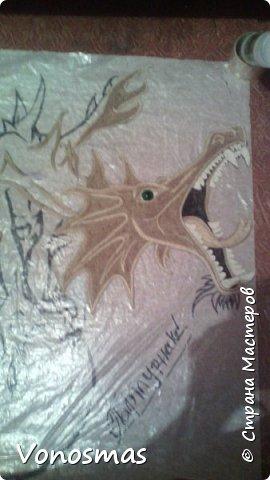 всем салют!!! это дракон из джутового шпагата. И немного пошаговых фото. фото 8