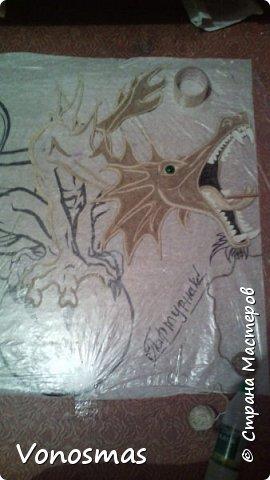 всем салют!!! это дракон из джутового шпагата. И немного пошаговых фото. фото 9